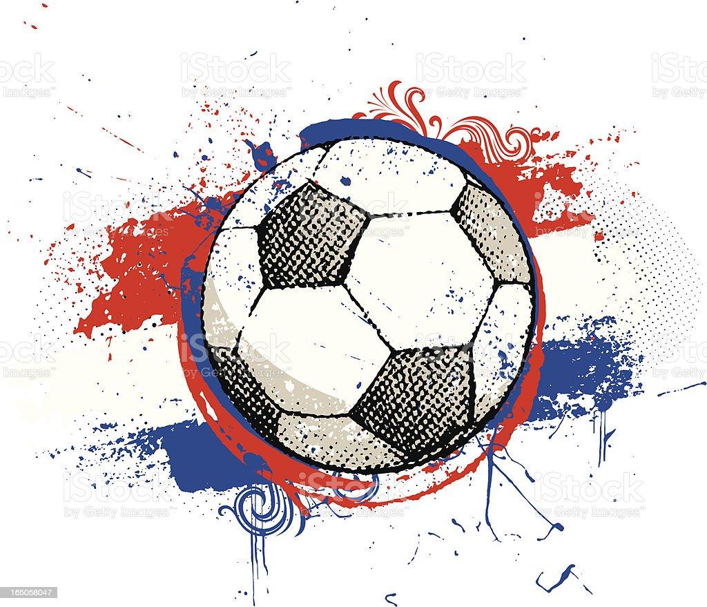 Dutch football royalty-free stock vector art
