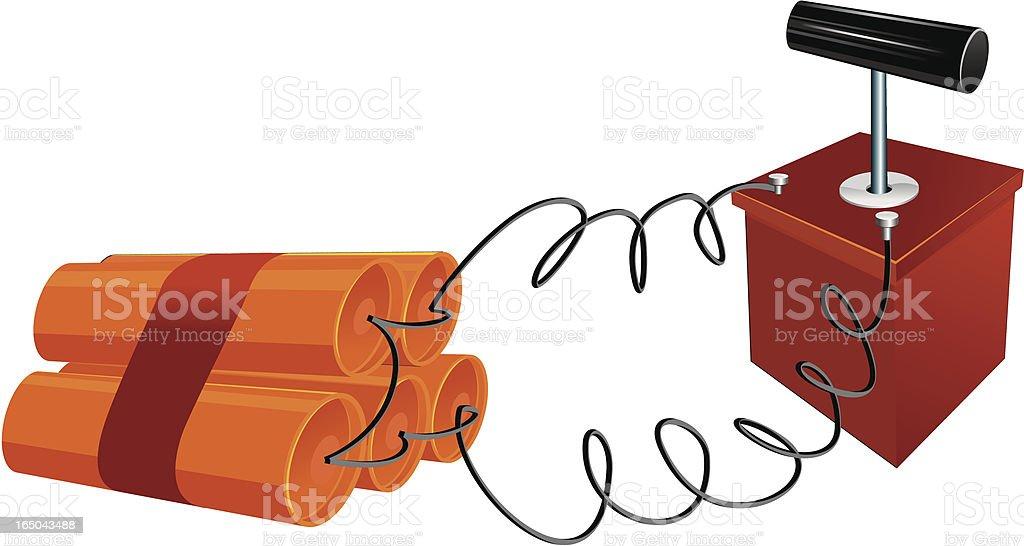 Dynamite 2 - The cartoon toolbox series royalty-free stock vector art