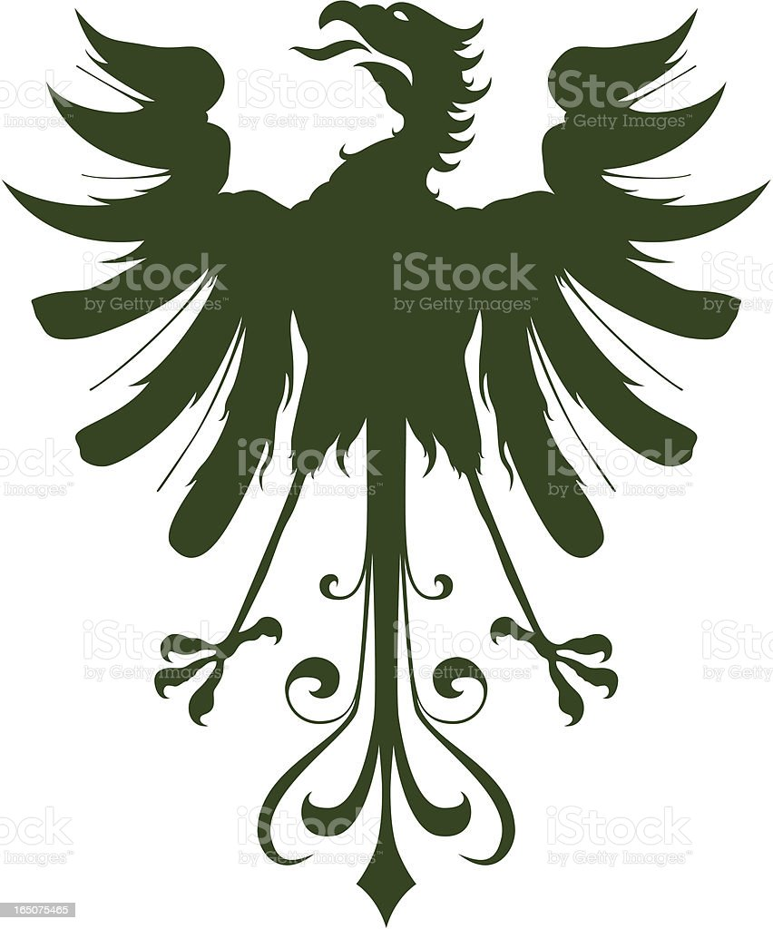 Eagle 4 royalty-free stock vector art