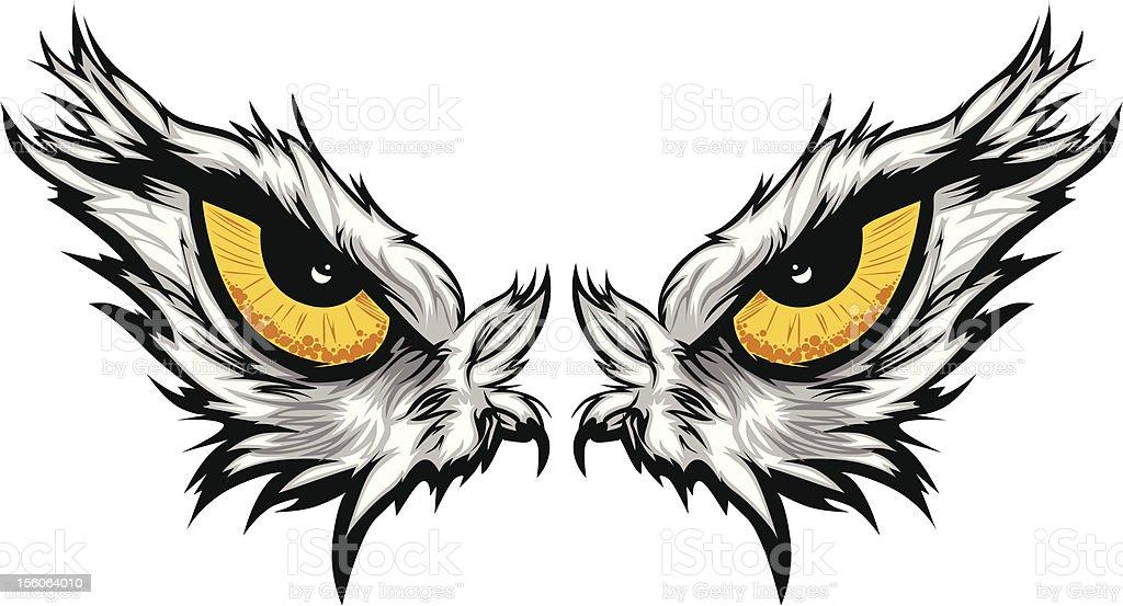 Рисовать глаз орла