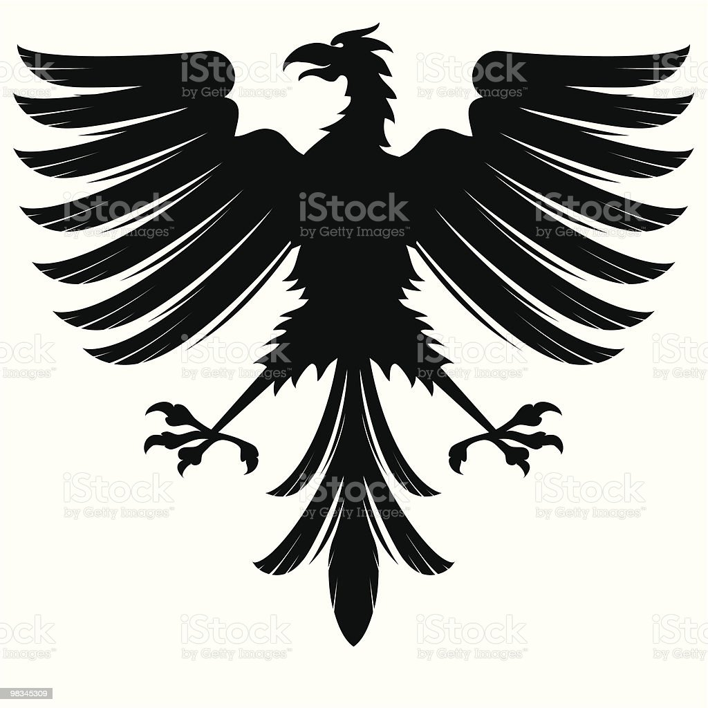Eagle royalty-free stock vector art