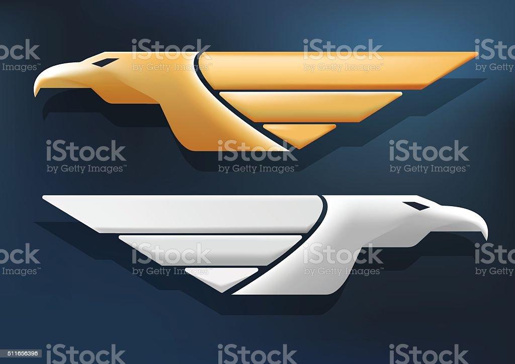 Eagle Vector vector art illustration