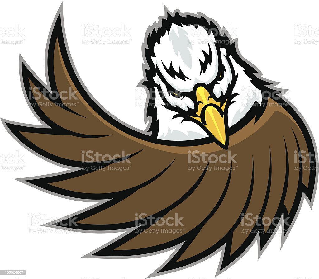 Eagle Wing vector art illustration