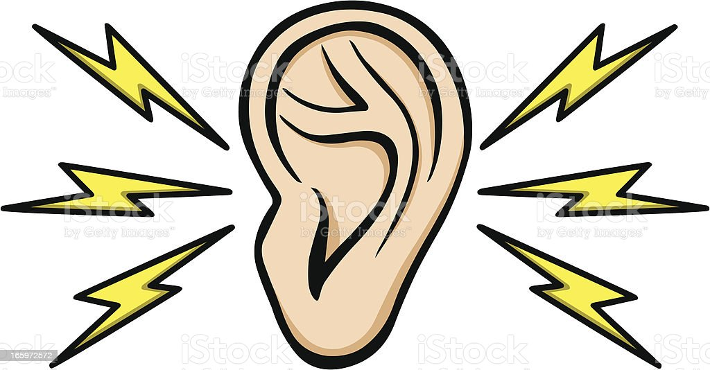 Earache vector art illustration
