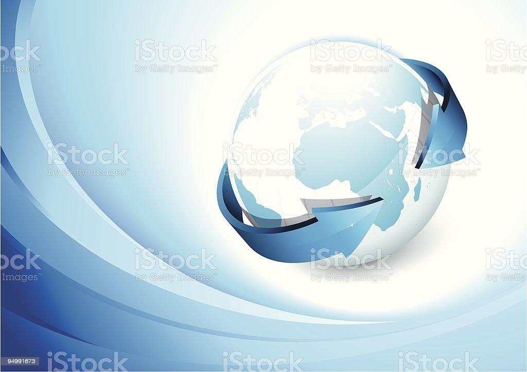 Earth concept royalty-free stock vector art