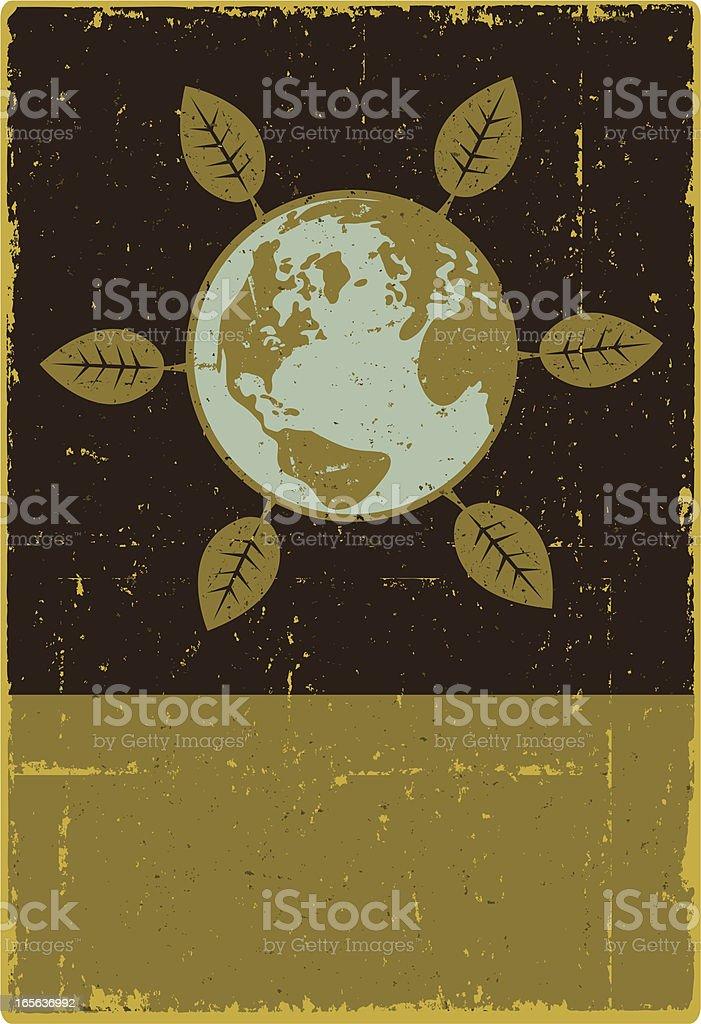 Earth Environmental Symbol royalty-free stock vector art