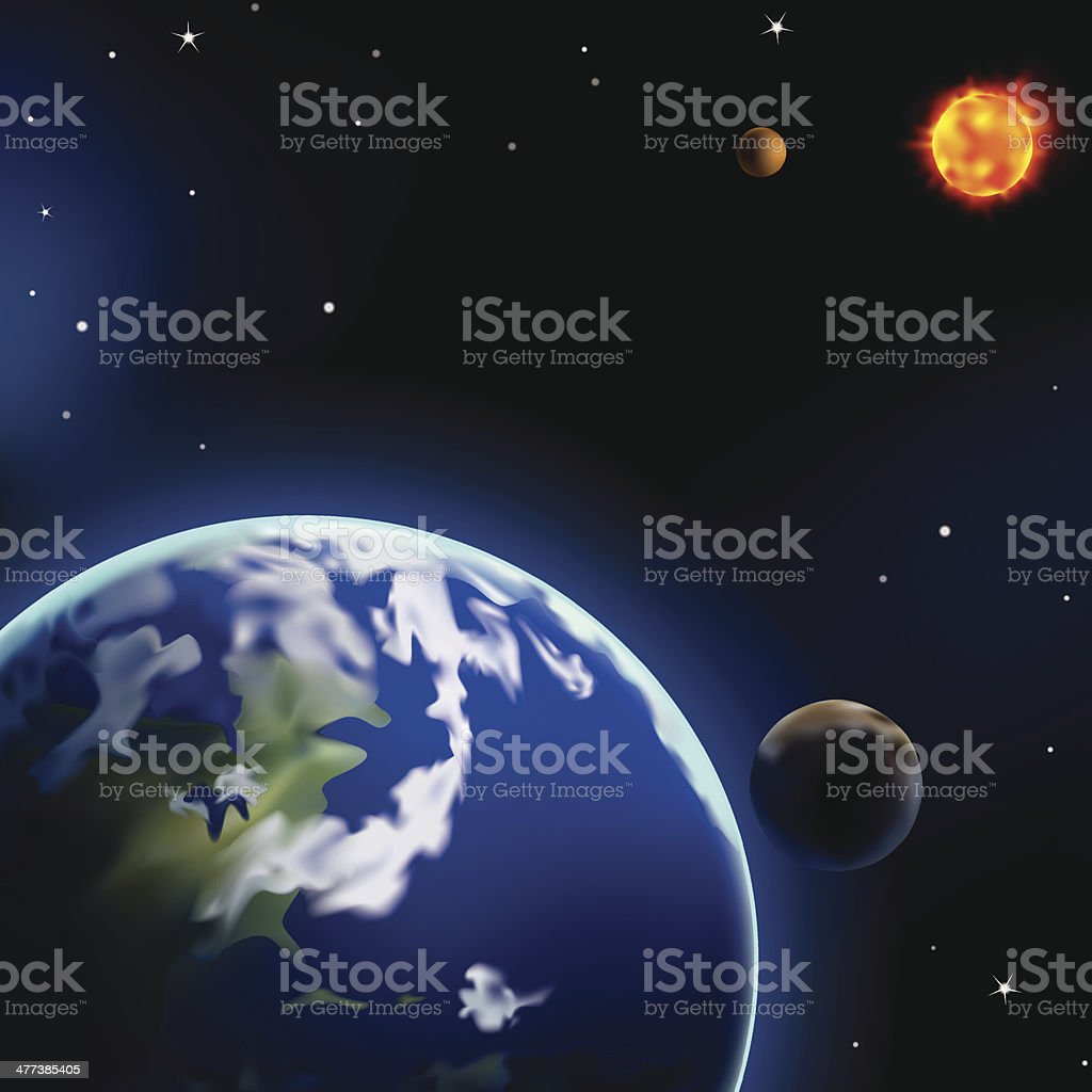 Earth royalty-free stock vector art
