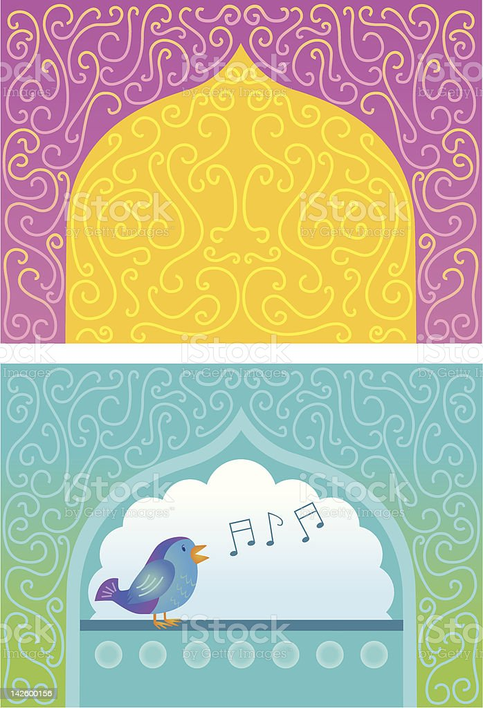 east indian ornament (Illustration). royalty-free stock vector art