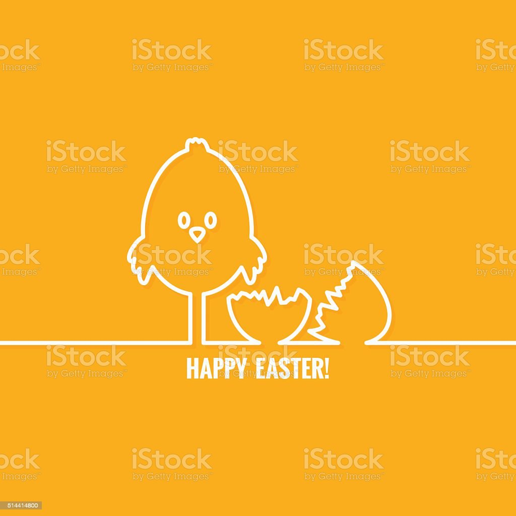 easter abstract line vector background vector art illustration