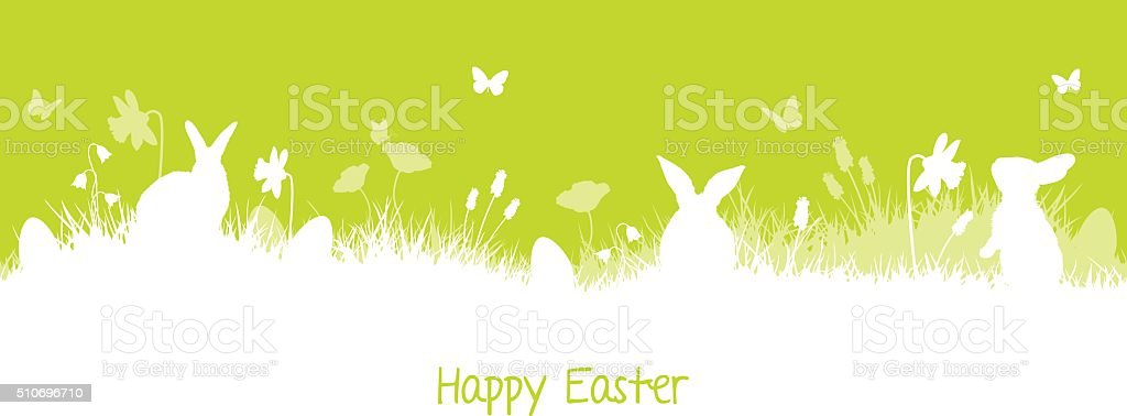 easter background card vector art illustration