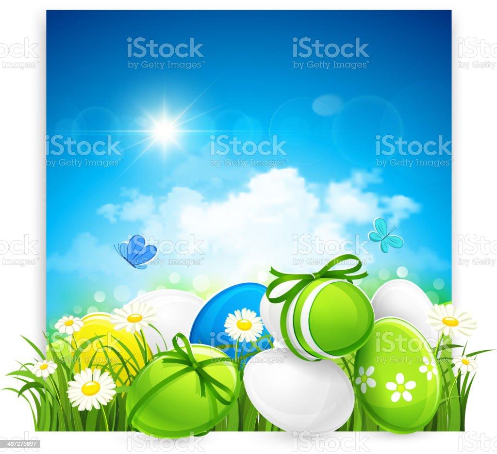 Easter banner royalty-free stock vector art