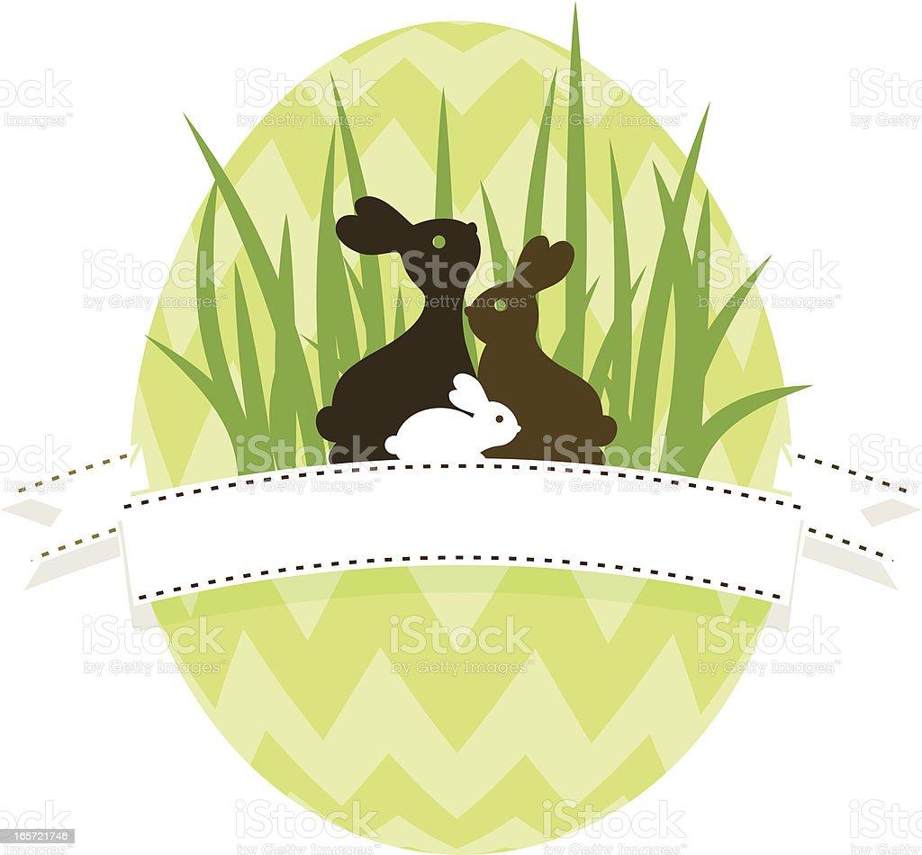 Easter banner.Easter egg hunt. vector art illustration