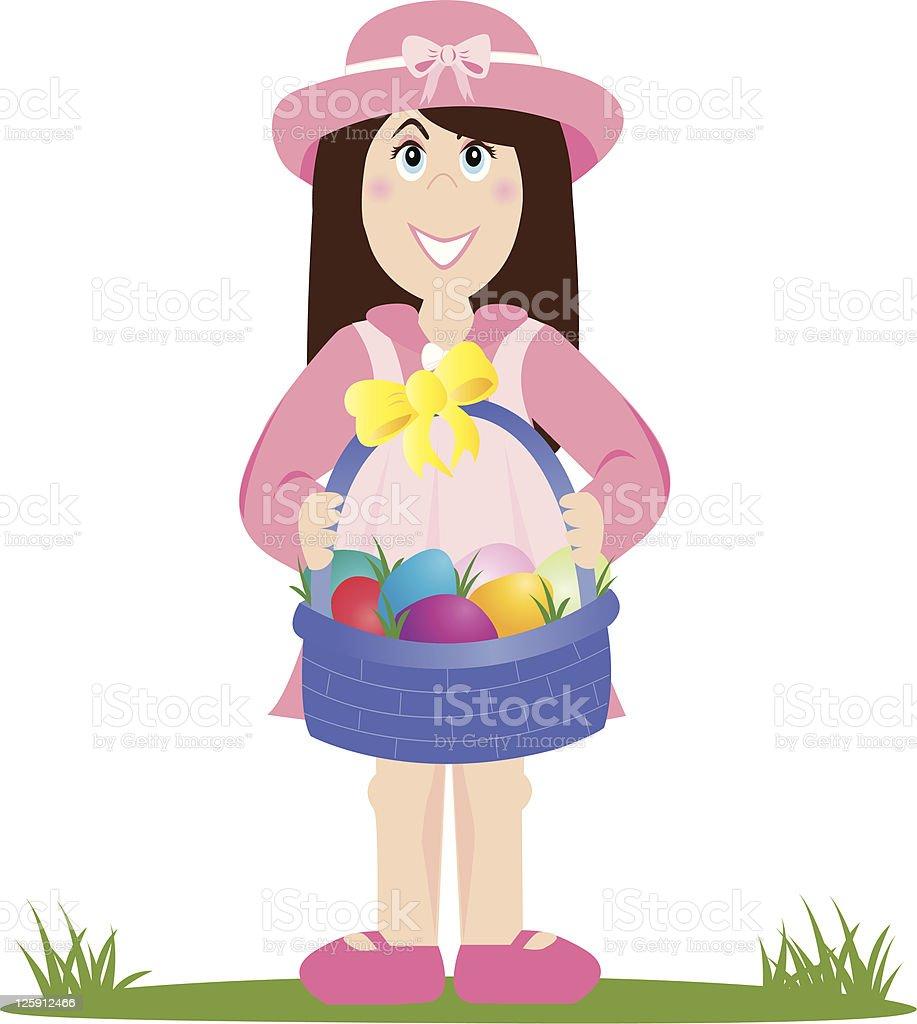 Easter Best vector art illustration