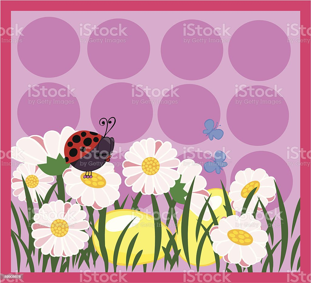 easter card royalty-free stock vector art