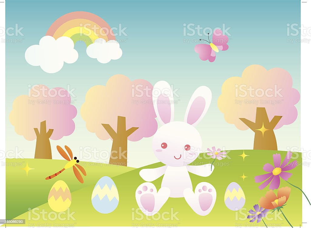 Easter Day Out royalty-free stock vector art