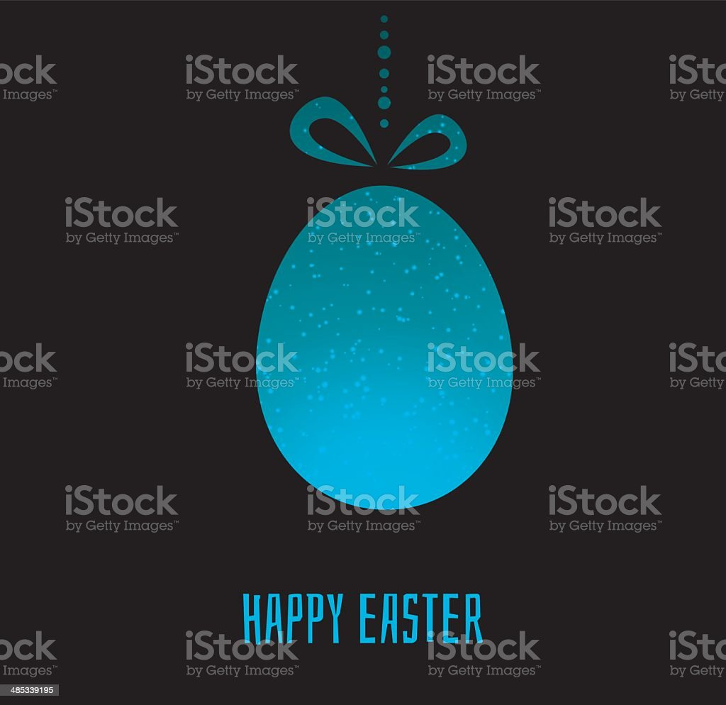 Easter design template royalty-free stock vector art