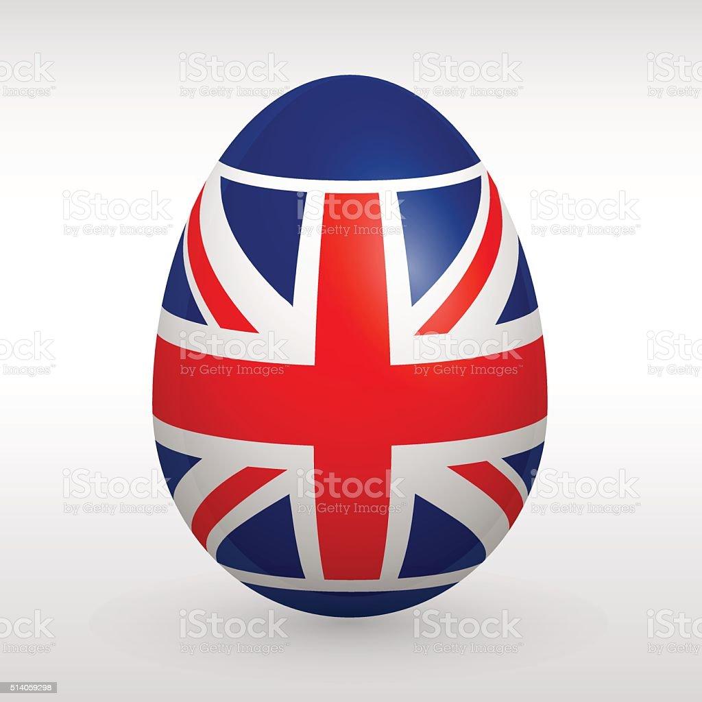 easter egg great britain flag stock vector art 514059298 istock