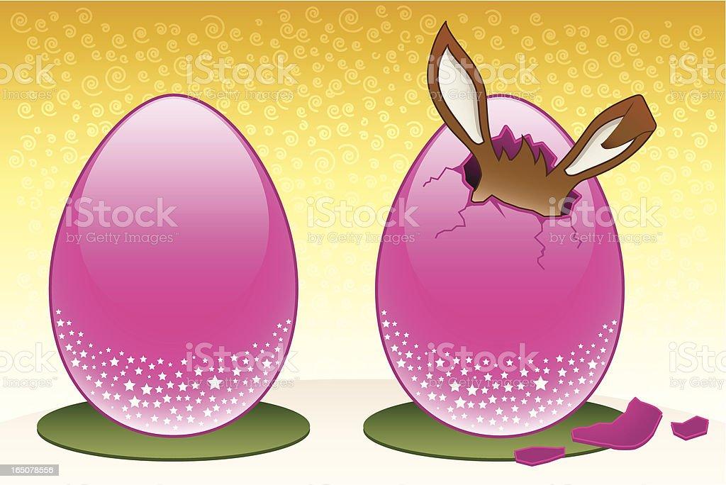 Easter Egg Time! royalty-free stock vector art