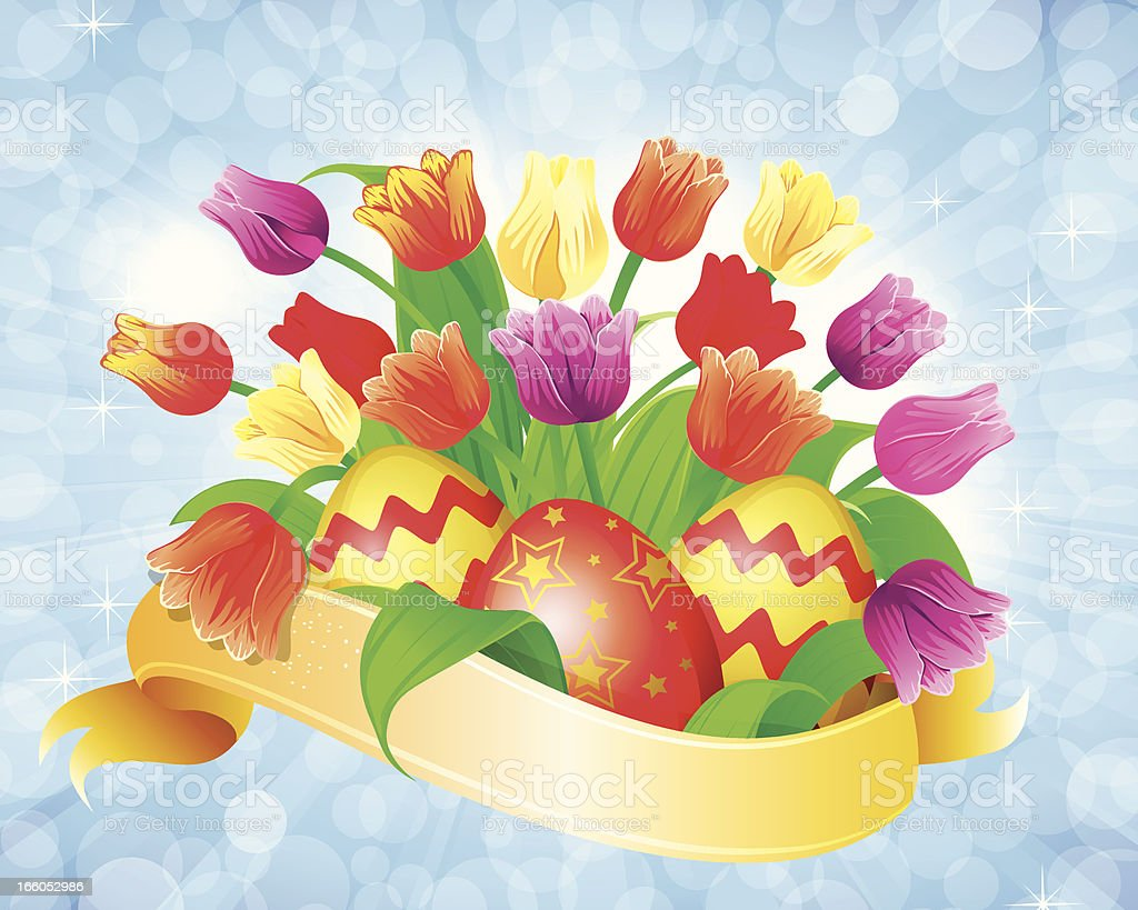 Easter Egg royalty-free stock vector art
