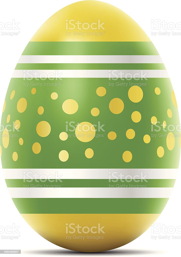 Easter Egg vector art illustration