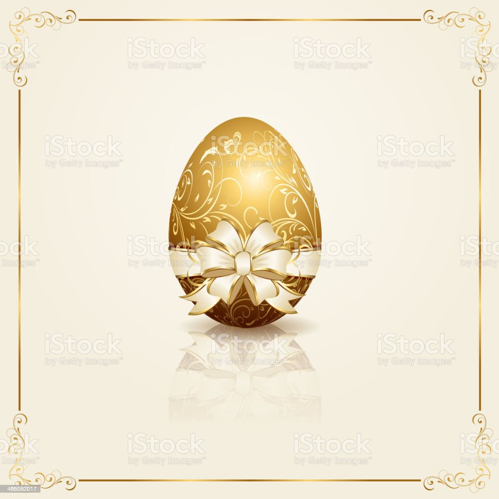 Easter egg royalty-free stock vector art