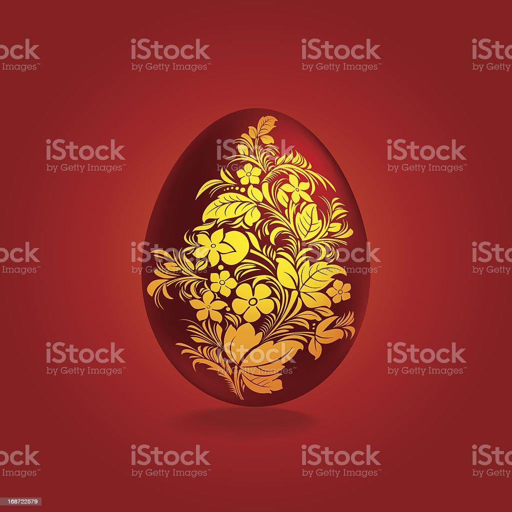 Modelo de design de ovos de Páscoa vetor e ilustração royalty-free royalty-free