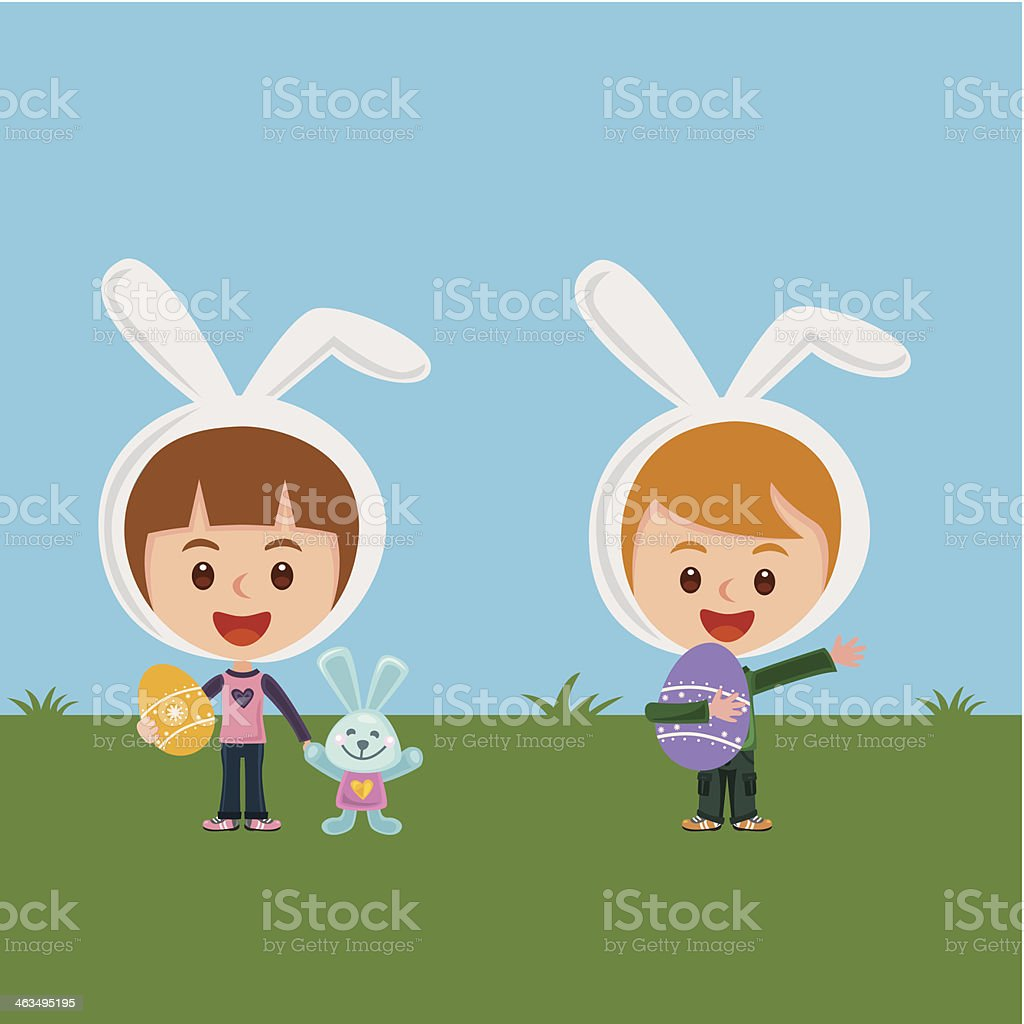 Easter fun royalty-free stock vector art