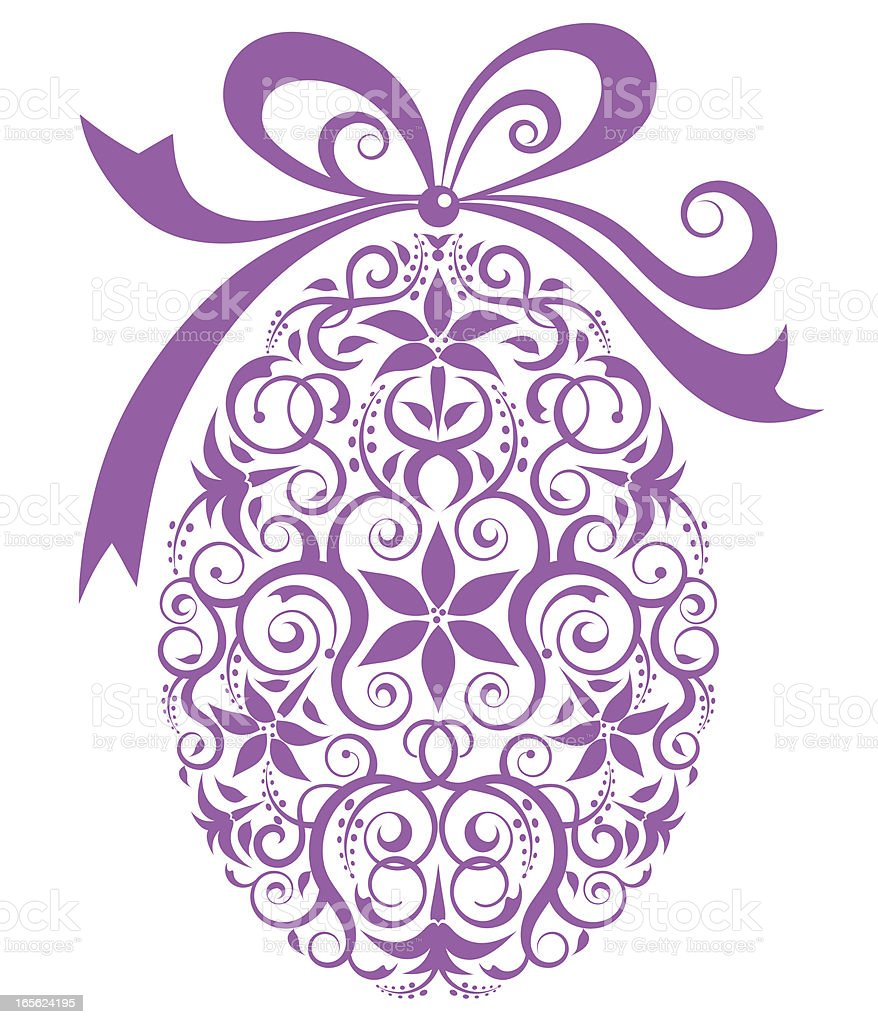 Easter Gift royalty-free stock vector art
