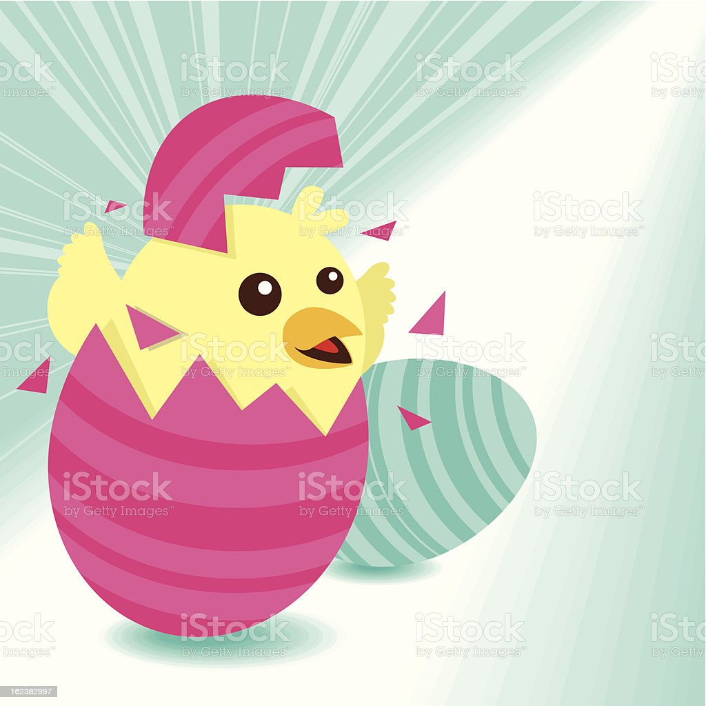 Easter Greeting royalty-free stock vector art