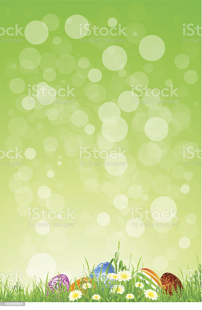 Easter Holiday Background royalty-free stock vector art