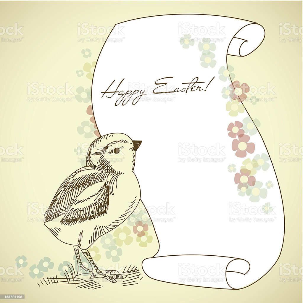 Easter Holiday Illustration royalty-free stock vector art