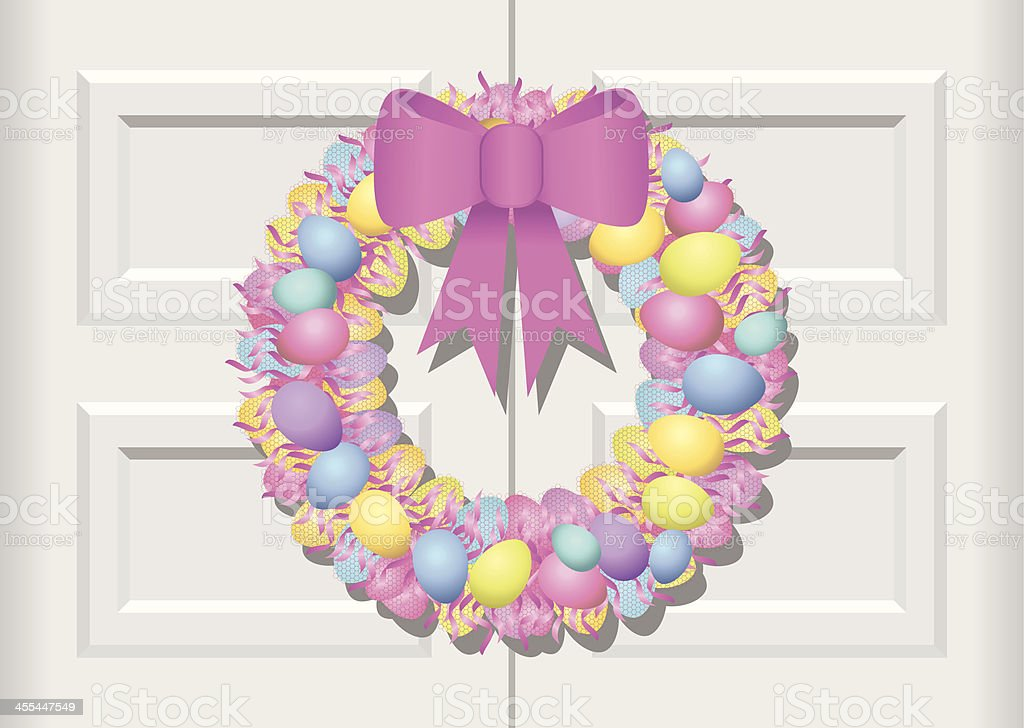 Easter is Coming!! royalty-free stock vector art