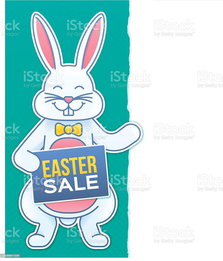 Easter Sale vector art illustration