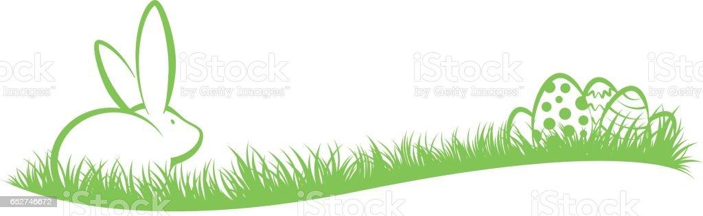 Easter Silhouette stock vector art 652746672 | iStock