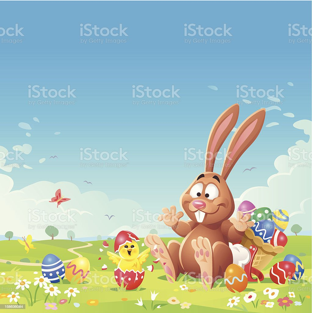 Easter Surprise royalty-free stock vector art