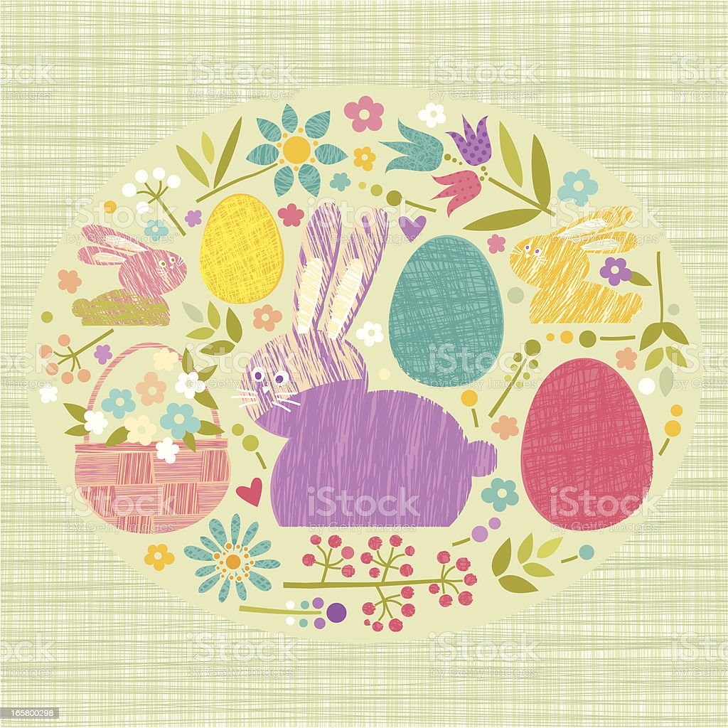 Easter Time royalty-free stock vector art
