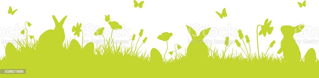 easter vector background vector art illustration