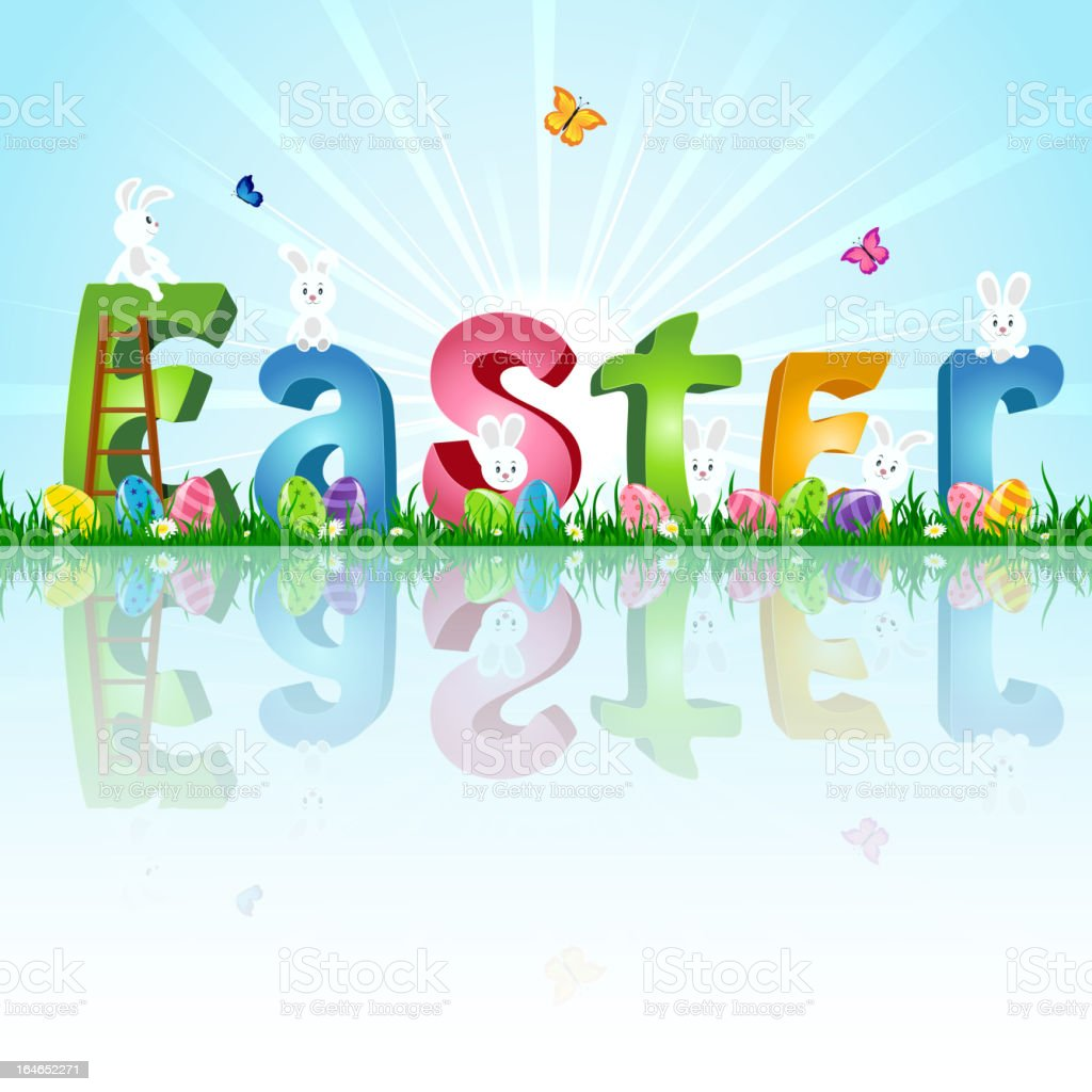 Easter royalty-free stock vector art