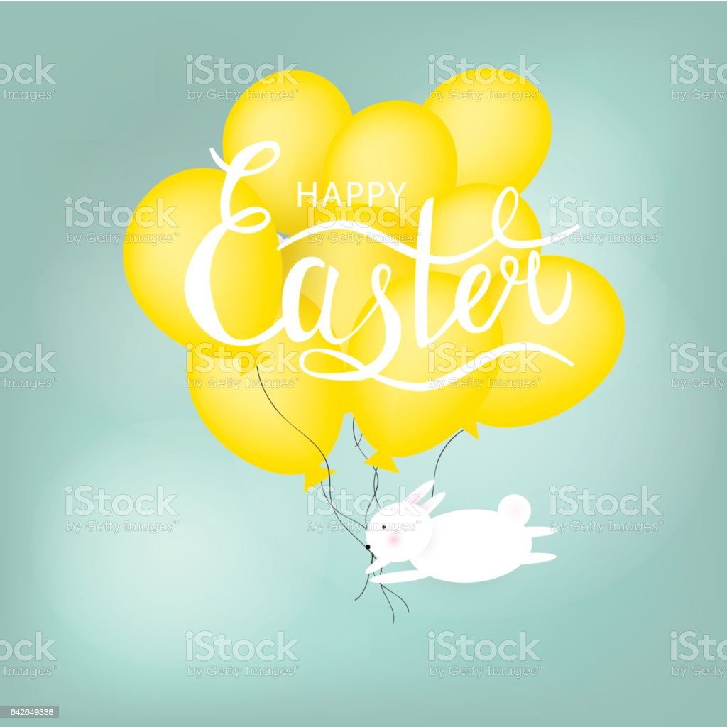 Easter vector art illustration