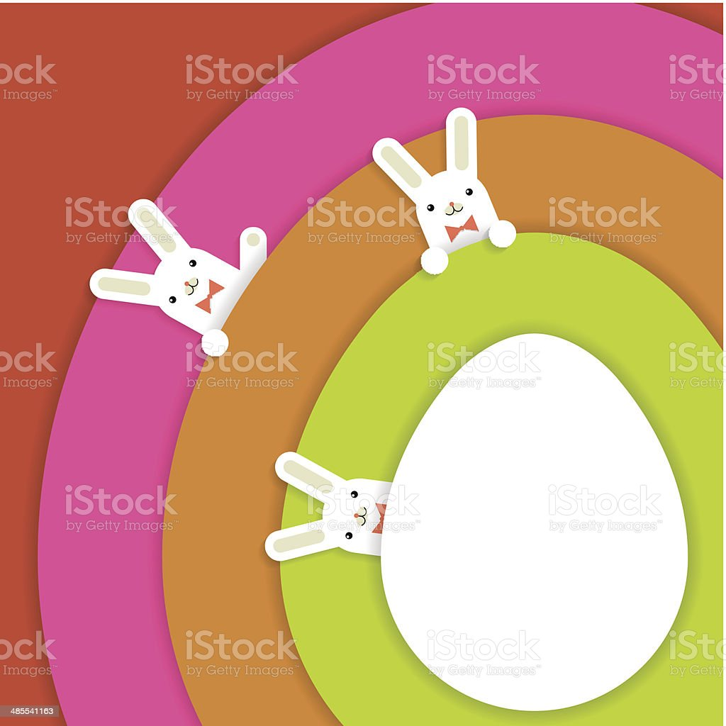 easter1 vector art illustration