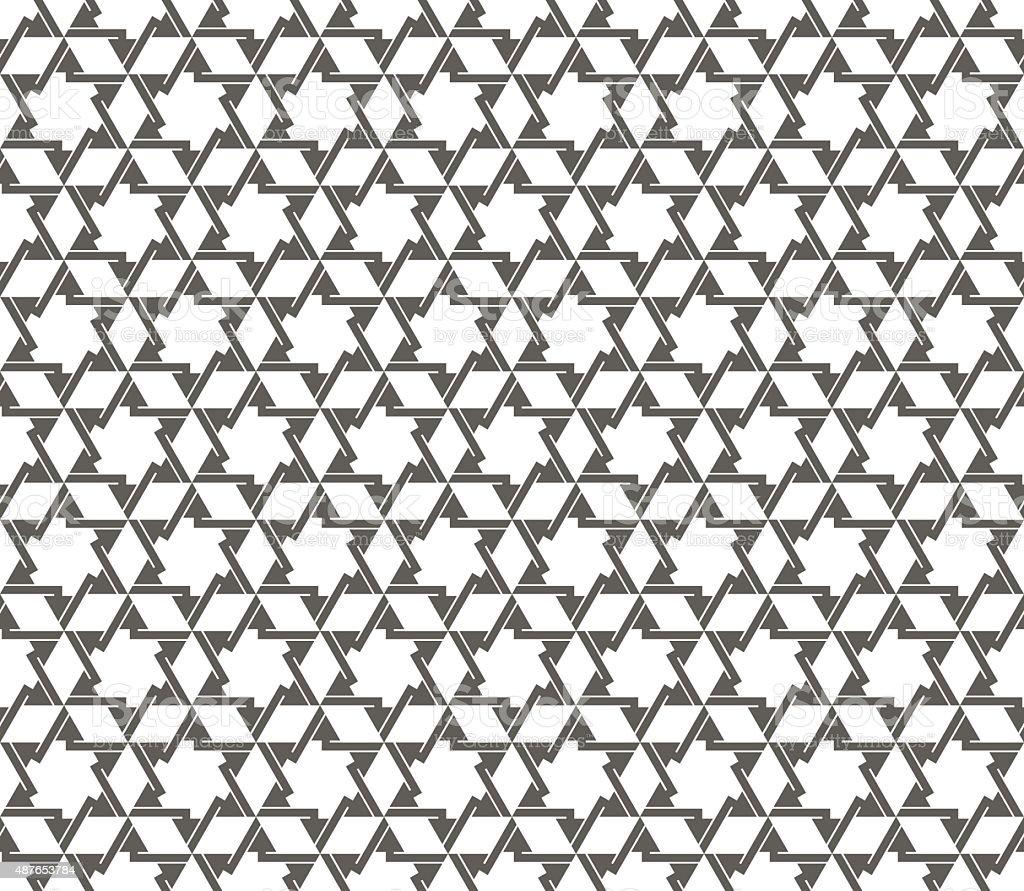 Eastern Seamless pattern. Vector background vector art illustration