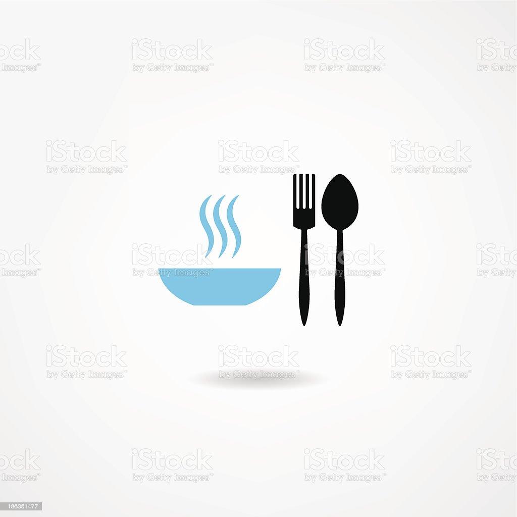 eatery icon royalty-free stock vector art