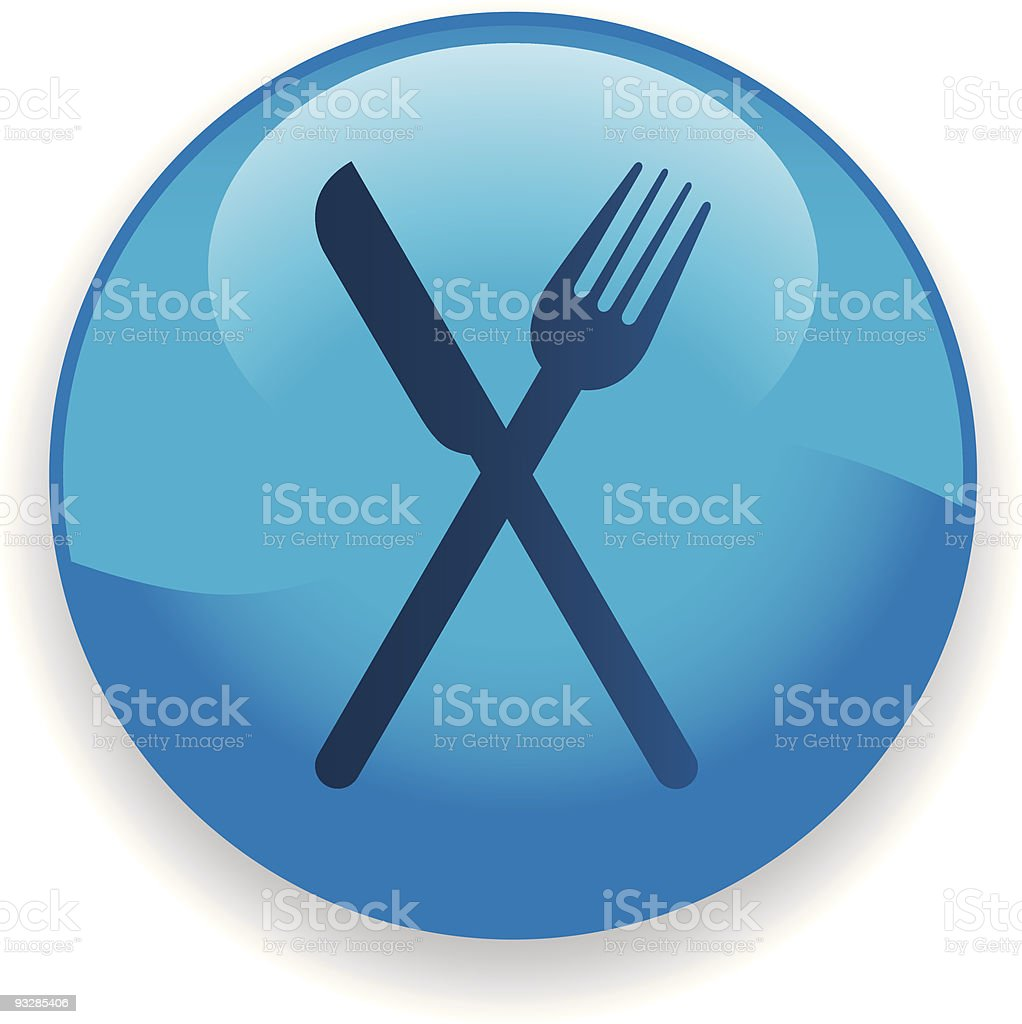 Eating Utensils Icon royalty-free stock vector art