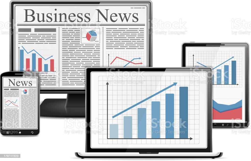 E-Business royalty-free stock vector art