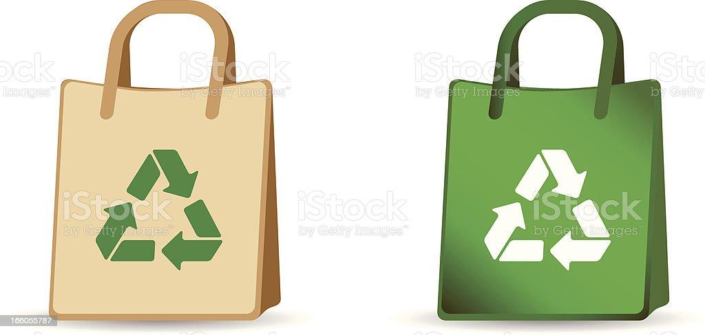 Eco Bag royalty-free stock vector art