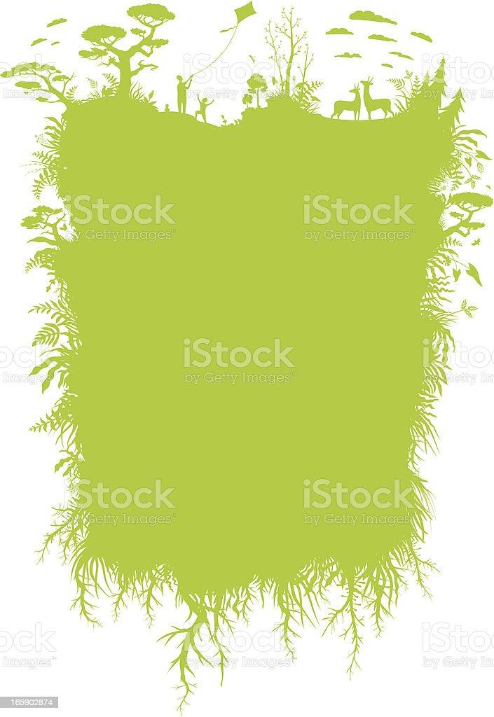 Eco banner royalty-free stock vector art