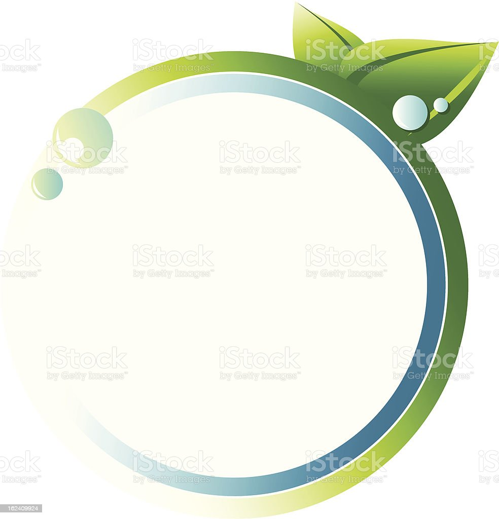 eco circle royalty-free stock vector art