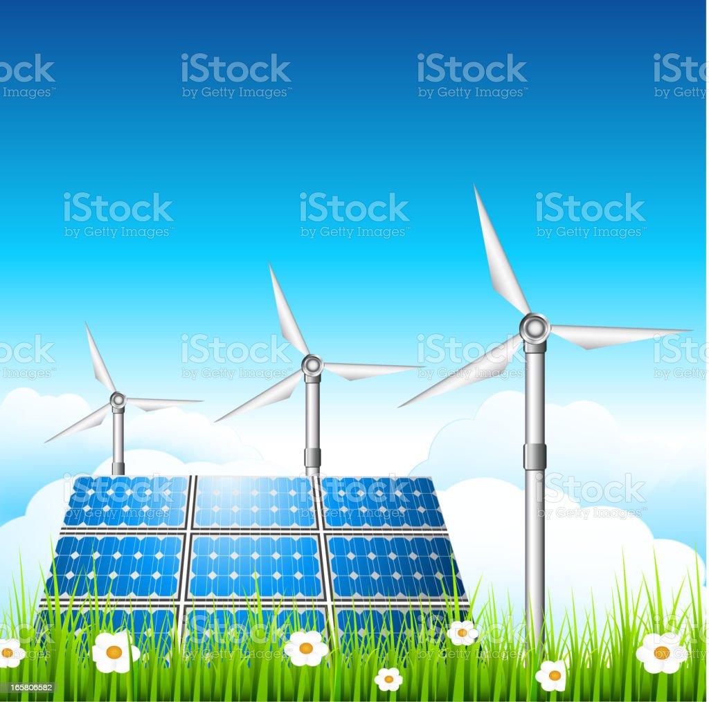 Eco concept royalty-free stock vector art