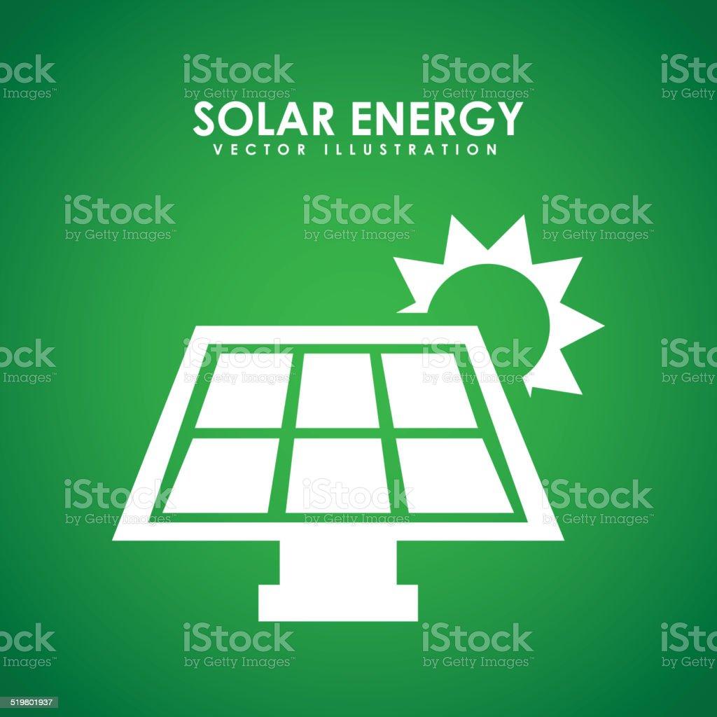 eco energy design vector art illustration