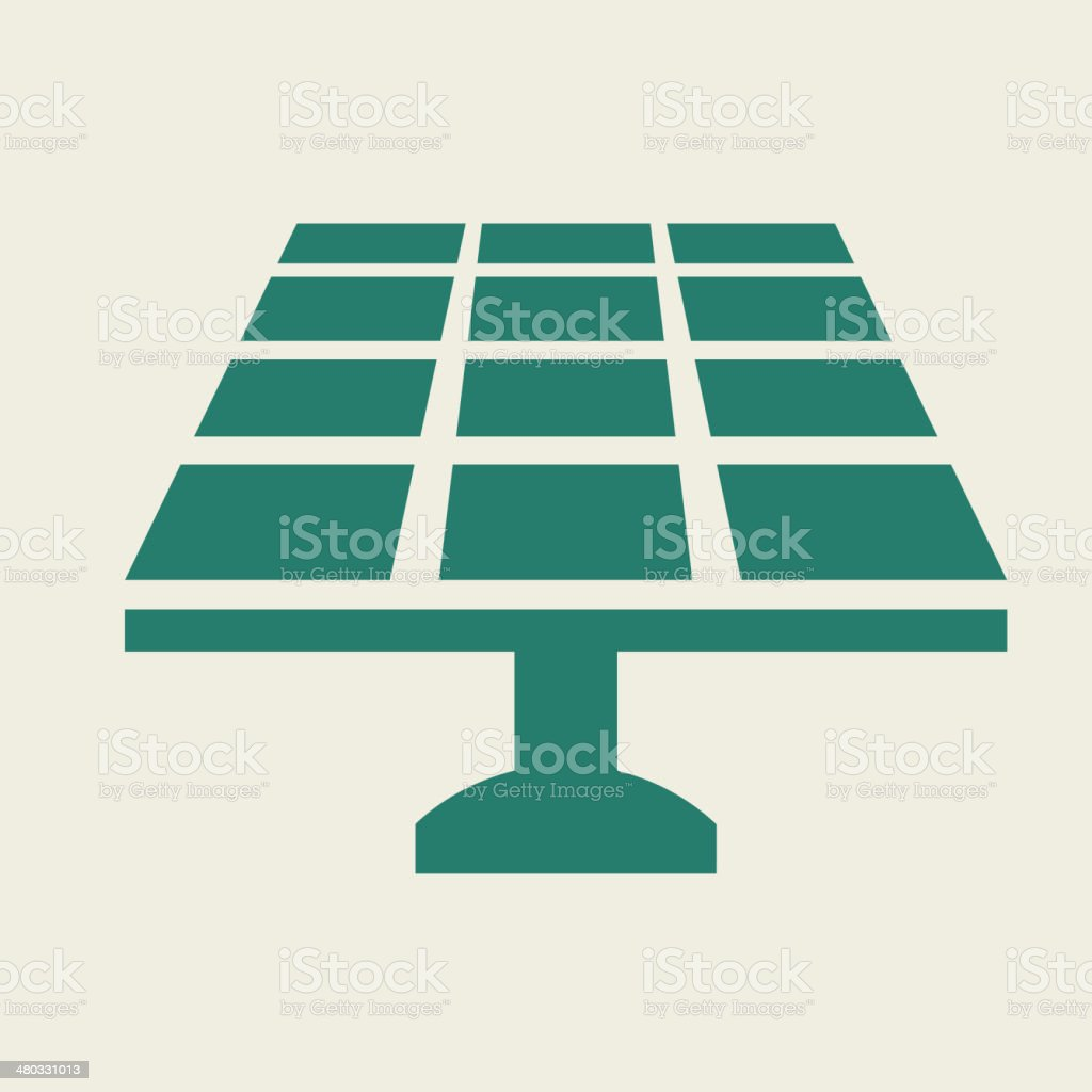 Eco Flat Icon vector art illustration